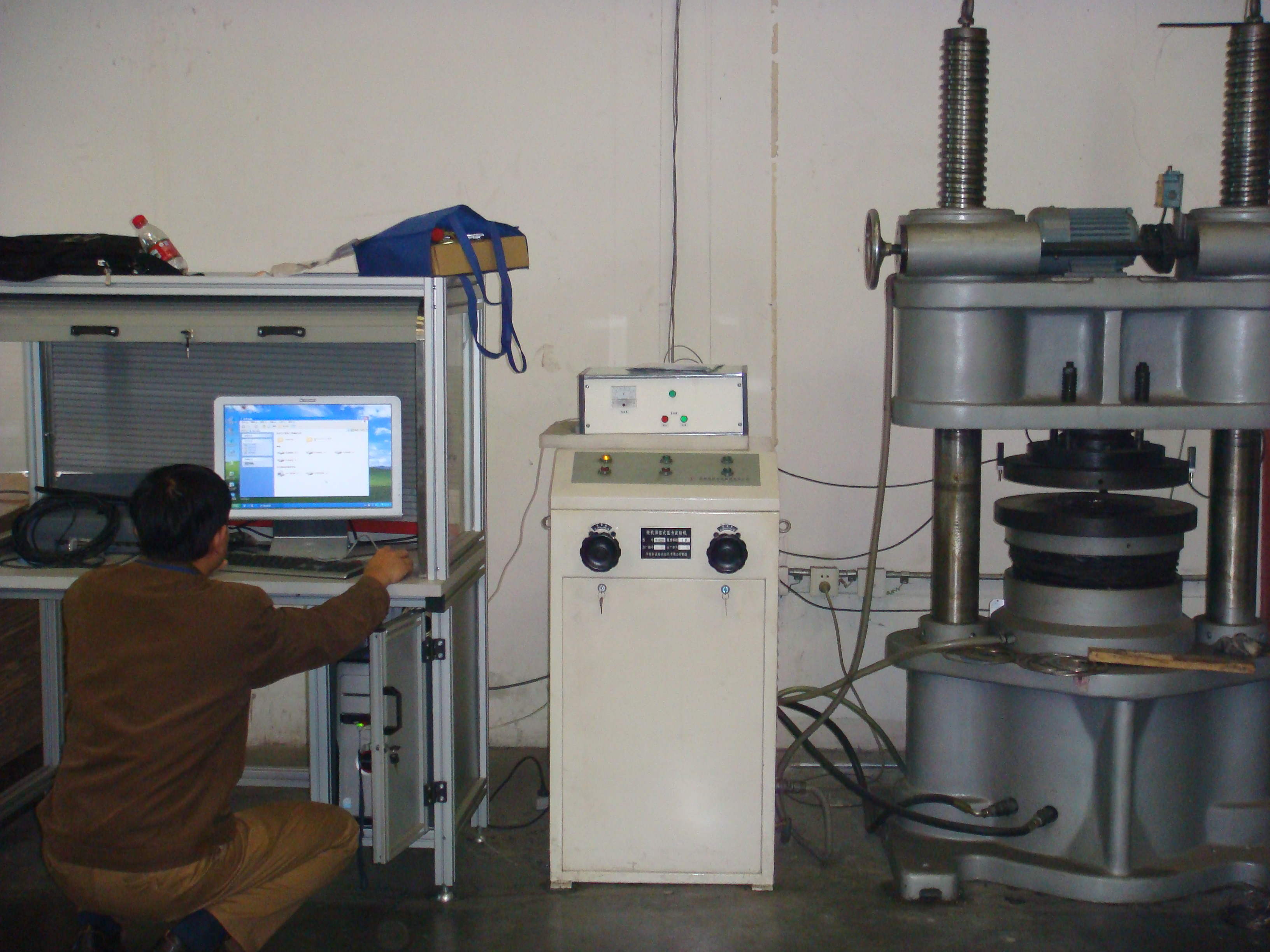Gasket Performance Comprehensive Test Machine(100T)